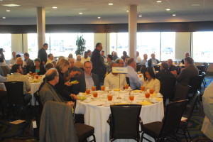 Luncheon attendees await the presentation of awards.